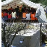Dubai Large Tents for camps, military tents, tents civil protection, Red Cross tents, scouts shops